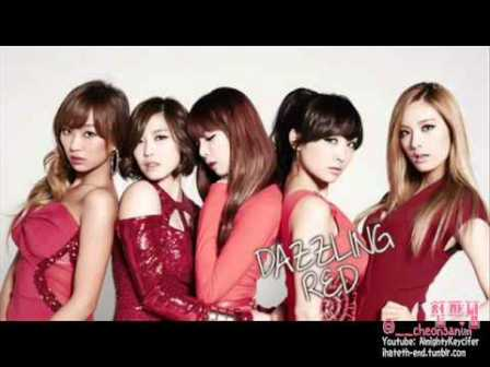 k pop - this person - dazzling red 2