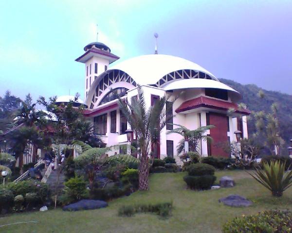 masjid at ta'awun - big view back