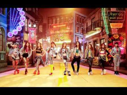 k pop - lost in love - girls' generation 3