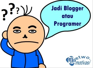 blogger vs programer