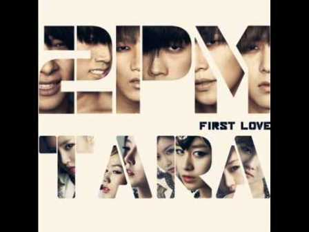 kpop - first love - t ara & 2pm 1