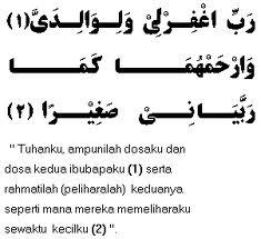 doa ibu bapak